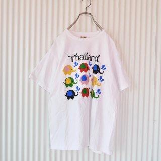 THAILAND カラーぞうさんTee
