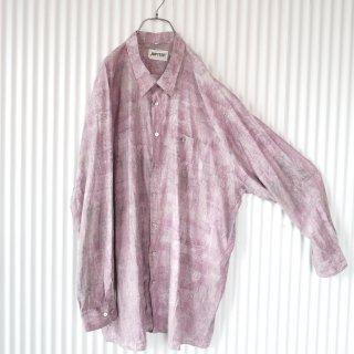 JUPITER ダスティピンク EURO 80's VISCOSEシャツ