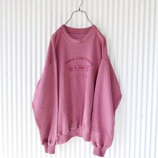 Dusty pink グランパスウェット
