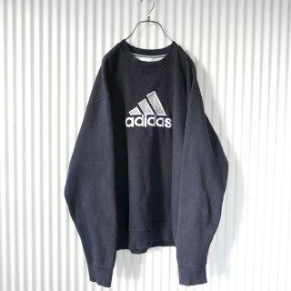 adidas BIGロゴ刺繍スウェット/XL