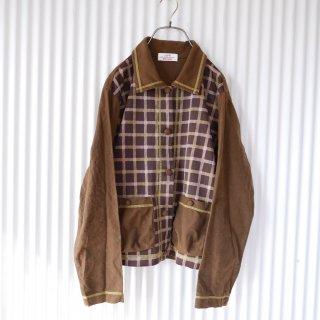 USPP ゴルフネコちゃんのレトロチェック オーバーシャツ