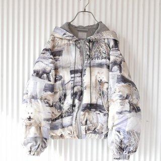Powder 犬ぞりと雪景色のダウンジャケット