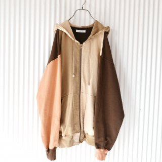 KANEKO ISAO クレイジーパターン バックロゴジップフーディ/Copper