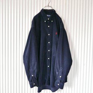 Ralph Lauren ポロ刺繍コーデュロイB.Dシャツ