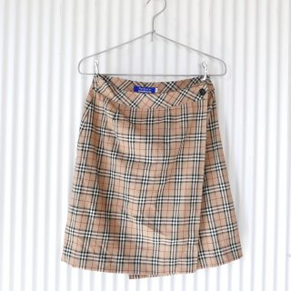 Burberrys BLUE LABEL チェックラップスカート