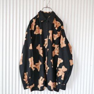 PINKHOUSE バンダナくまちゃんシャツ/くろ