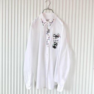 KAREN SCOTT 電飾と猫ちゃんのシャツ