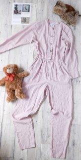 EURO アンティークジャンプスーツ/Dusty pink