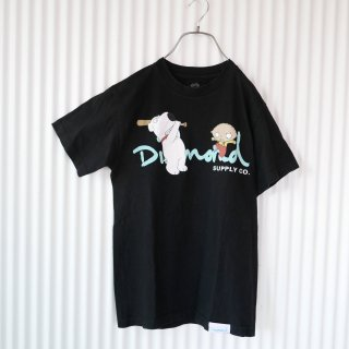 FAMILY GUY Black Tee