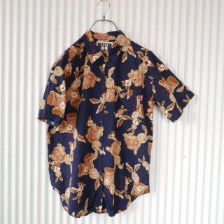 PINK HOUSE 親子うさぎの半そでシャツ