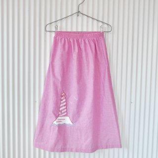 BLAIR 灯台刺繍サマースカート/USA