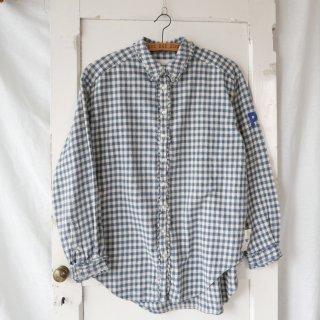 PINK HOUSE フリルギンガム ナチュラルチェックネルシャツ