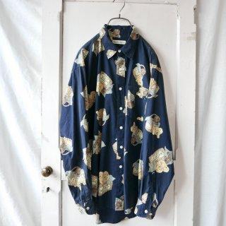 NATURE TRAIL 仔犬のバスケットシャツ