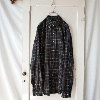 Ralph Lauren ポロ刺繍グラフチェックB.Dシャツ
