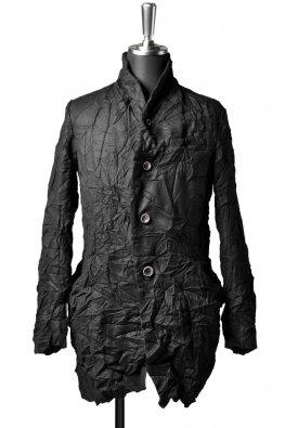 individual sentiments  Silk Cashmere catch washer jacket / black