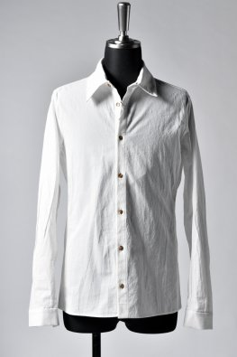individual sentiments  cotton boil shirt / white
