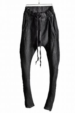 ARMY OF ME  Piece Dyed Fitted Trousers  50 / Anthracite