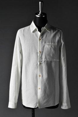 individual sentiments Shirt JP-Washi/Cotton Akiha Pique