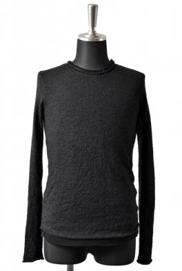 nude:masahiko maruyama Mohair Joining Cotton Jersey Long Sleeve
