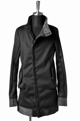 <img class='new_mark_img1' src='https://img.shop-pro.jp/img/new/icons8.gif' style='border:none;display:inline;margin:0px;padding:0px;width:auto;' />incarnation Exclusive Pu CalfHigh/N Bias Blouson Long