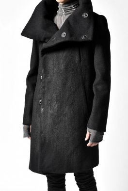 The Viridi-Anne COATING-MELTON HIGHNECK COAT