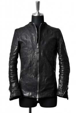 <img class='new_mark_img1' src='https://img.shop-pro.jp/img/new/icons8.gif' style='border:none;display:inline;margin:0px;padding:0px;width:auto;' />incarnation NO COLLAR MOTO BLOUSON SPIRAL-ARM / HORSE LEATHER
