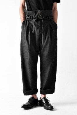 individual sentiments High Waist Wide Trousers