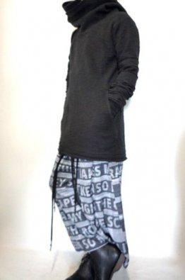 nude:masahiko maruyama Cotton Slab Zip Up Parka