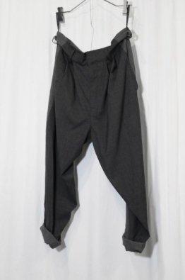 nude:masahiko maruyama 2TUCK PANTS with BELT