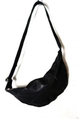 incarnation Horse Leather Shoulder Bag Unlined3
