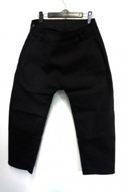 incarnation FLAT SARROUEL STRETCH CROPPED PANTS
