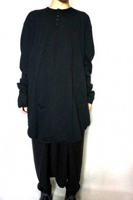 ROGGYKEI Circle Henlypullover T-Sshirt  Long Sleeve