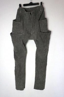 incarnation LINEN COTTON STRETCH W/POCKET PANTS