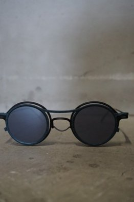 The Viridi-anne×RIGARDS Sunglasses  BLACK /MIRR