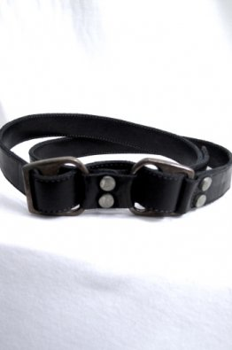 incarnation Calf Leather Belt D-Ring #3