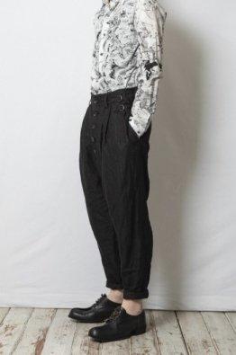 nude:masahiko maruyama 2Tuck Hemp Pants