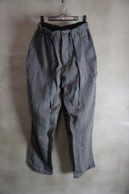 individual sentiments Linen Herringbone Easy Pants