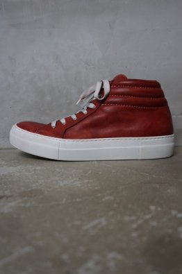 incarnation Horse Leather Sneakers Vs Hi-Cut Lined