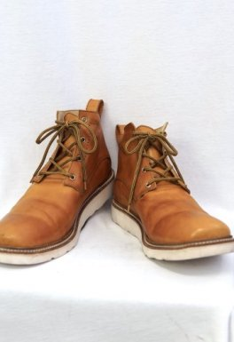 <img class='new_mark_img1' src='https://img.shop-pro.jp/img/new/icons23.gif' style='border:none;display:inline;margin:0px;padding:0px;width:auto;' />incarnation Horse Leather Ankle 4Hole #3 Lined Rubber Soles