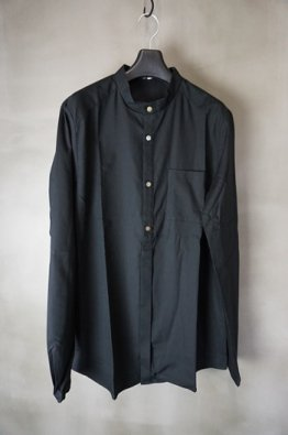 <img class='new_mark_img1' src='https://img.shop-pro.jp/img/new/icons23.gif' style='border:none;display:inline;margin:0px;padding:0px;width:auto;' />individual sentiments Cotton modal Band collar Shirt