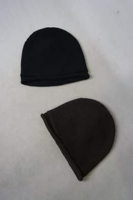 DEVOA  knit cap Hand made wool/cashmere