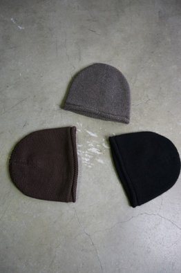 DEVOA  knit cap Hand made cotton