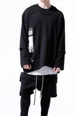 A.F ARTEFACT Print Type D Combi Sweater Top