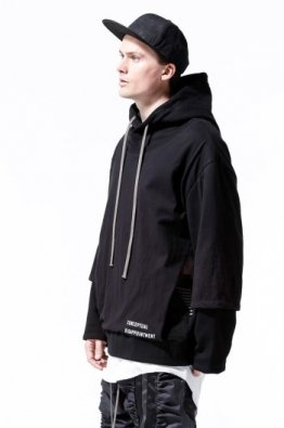 A.F ARTEFACT Layered Sweater Hoodie