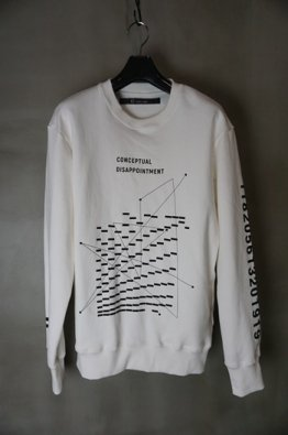 <img class='new_mark_img1' src='https://img.shop-pro.jp/img/new/icons23.gif' style='border:none;display:inline;margin:0px;padding:0px;width:auto;' />A.F ARTEFACT Print Type F &embroidery Sweater Top