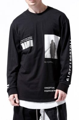 <img class='new_mark_img1' src='https://img.shop-pro.jp/img/new/icons8.gif' style='border:none;display:inline;margin:0px;padding:0px;width:auto;' />A.F ARTEFACT Print Type D Long Sleeve Top