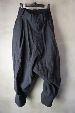 vital Stripe Tuck Volume Pants