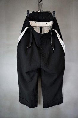 KLASICA BARREL MONO HOUND TOOTH Wool/Linen