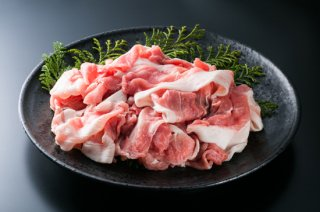 国産豚肉 バラエティカット 100g