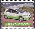 オーランドの切手・ヨーロッパ・郵便車・2013